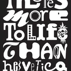 Photo : Il n'y a pas qu'Helvetica dans la vie
