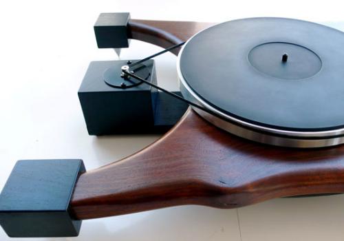 platine vinyle audiowood. Black Bedroom Furniture Sets. Home Design Ideas