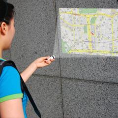 Photo : Maptor projecteur de cartes GPS