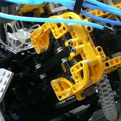 Photo : Moteur Lego