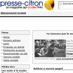 Presse-citron : nouvelle version