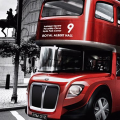 Photo : Bus pour Londres