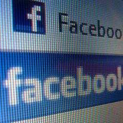 Photo : Page d'accueil de Facebook : les débuts