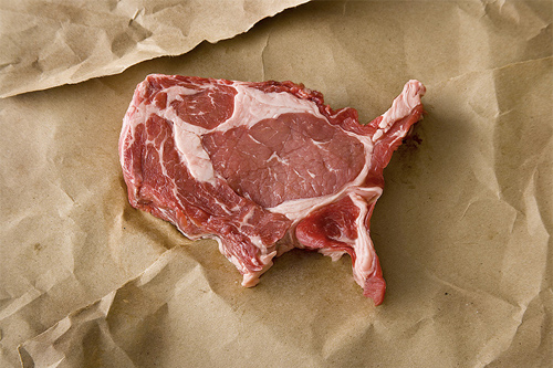 USA : United Steaks of America