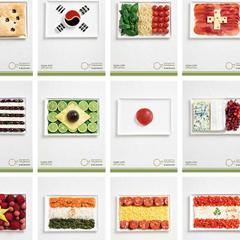 Photo : Drapeaux comestibles