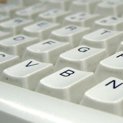 Photo : Tester sa vitesse de frappe au clavier