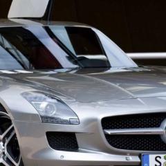 Photo : Mercedes SLS AMG