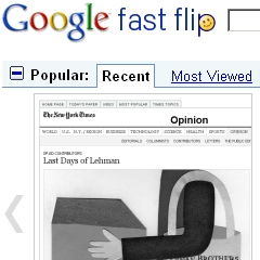 Photo : Google Fast Flip