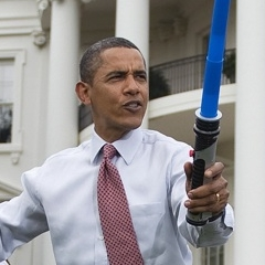 Photo : Obama Star Wars