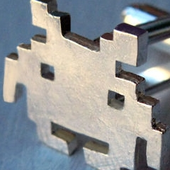 Photo : Bijoux Space Invaders
