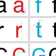 Photo : Différences entre Arial et Helvetica