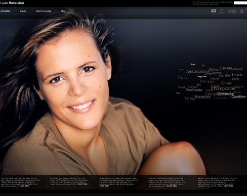 Laure Manaudou site officiel