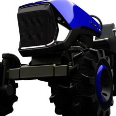 Photo : Cosmic Trac : tracteur du futur