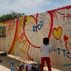 Photo : Marche Mondiale pour la Paix et la Non-violence