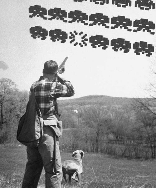 Chasseur de Space Invaders