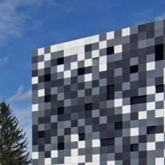 Photo : Maison pixels