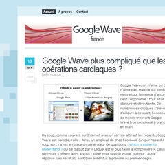 image Google Wave France