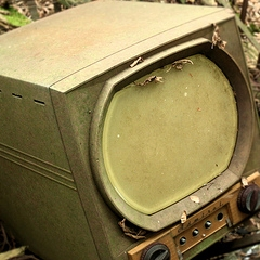 Photo : Sur la télévision