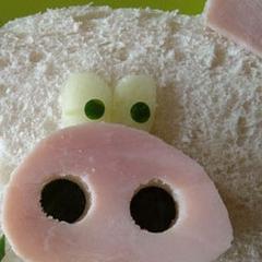 Photo : Tout est bon dans le cochon !