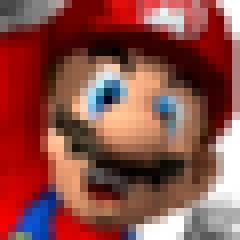 Photo : Super Mario nu !