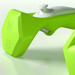 Photo : Riiflex Wiimote de musculation !
