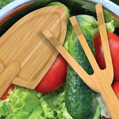 La main verte dans la salade ...