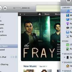 Photo : iTunes : évolution du logo