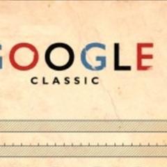 Photo : Google autrefois : Google Classic