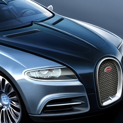 Photo : Bugatti Galibier 16C Concept