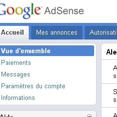 Photo : Essayez le nouvel AdSense
