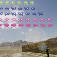 Photo : Space Invaders : la guerre commence !
