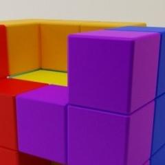 Photo : Fauteuil Tetris