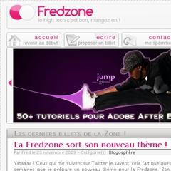 Photo : Fredzone : nouveau thème !
