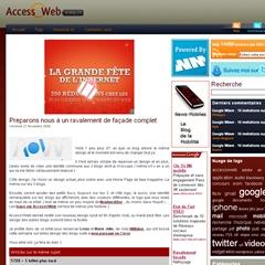 Photo : Nouveau design AccessOWeb