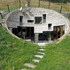 Photo : Villa Vals : maison dans la colline