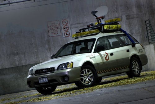 Ectomobile dans Ghostbusters