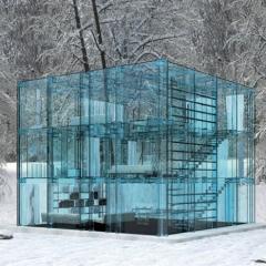 Photo : Maison en verre