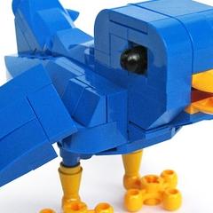 Photo : Oiseau Twitter Lego