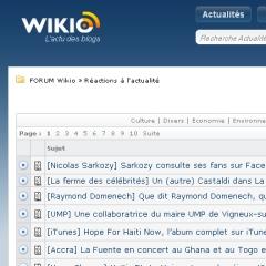 Photo : Forums Wikio