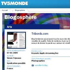 Tribords sur TV5Monde