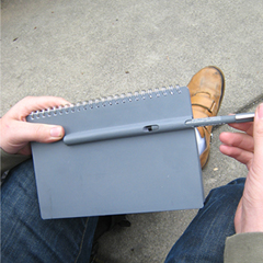 Photo : Penbook le carnet-stylo