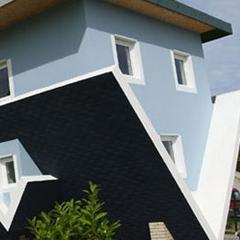 Photo : Maison à l'envers