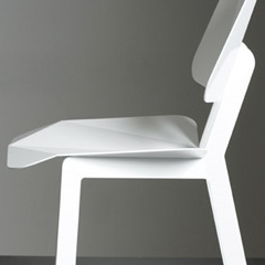 Chaise origami