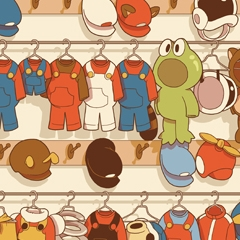 Costumes Super Mario Bros