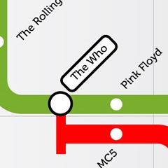 Photo : Plan de métro Rock'n Roll