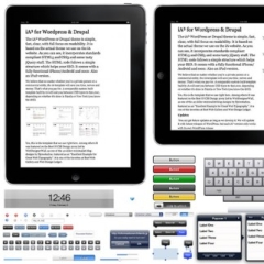 Photo : Templates pour iPad