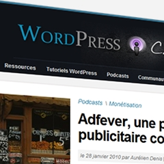 Nouvelle version de WordPress Channel