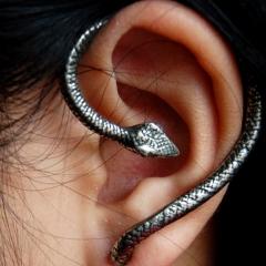 Photo : Boucles d'oreilles serpent
