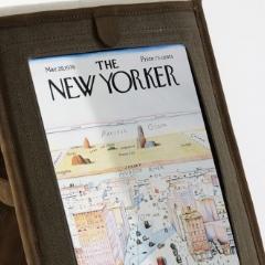 Photo : iPad : en sac et en cuir