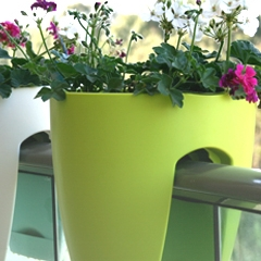 Photo : Pots de fleurs Greenbo